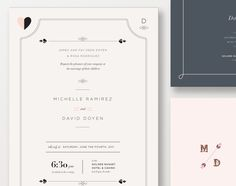 typography invitation - I love layout, but with a little bigger fonts :)