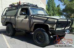 K5 4x4 Blazer Military Style Photo
