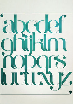 90 Beautiful Typography Alphabet Designs (Part Typography Served, Cool Typography, Typography Letters, Sign Letters, Bubble Letters, Lettering Styles, Types Of Lettering, Lettering Design, Alphabet Design