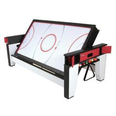 2-in-1 Flip Billiard And Hockey Table