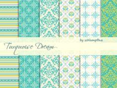 Schlumpfina90's Turquoise Dream Wallpaper