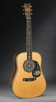 The Millionth Martin Guitar. It can be found in our Museum.