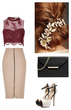 """""""Where everything is far too real."""" by you-are-pretty-amazing ❤ liked on Polyvore featuring River Island, Glamorous and MICHAEL Michael Kors"""