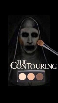 Saw The Conjuring it was weird lol. Funny Fails, Funny Jokes, Makeup Jokes, Funny Makeup, Sexy Makeup, Funny Horror, Real Horror, Horror Films, Movie Memes