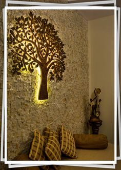 unit design With Stone Cladding Wall Decor Design, Home Room Design, Door Design Interior, Luxury Living Room Design, Interior Wall Design, Living Room Design Inspiration, Room Door Design, Home Entrance Decor, Ceiling Design Living Room
