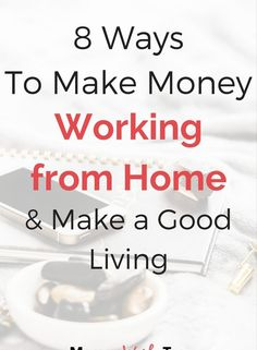 8 Ways to Make Money as a Stay-at-Home Mom • Momma Works Too