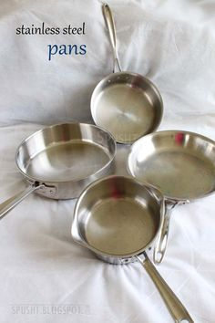 Stainless Steel Pans Pantry Essentials Indian Kitchen Things