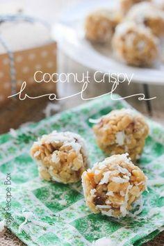 Coconut Crispy Balls - Made From Pinterest