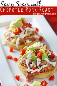 Yum!! I LOVE Mexican Food! I am SO excited to try these Spicy Sopes. Great for Sunday Dinner!
