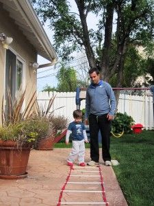 Spring Into Action: Outdoor Family Workouts. 5 great games and exercises that will teach your kids proper form and how to have fun working out!
