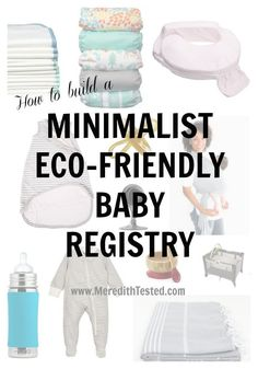 How to build your eco-friendly, minimalist baby registry - How to build your eco-friendly, minimalist baby registry babypin Natural Baby Products How t Musik Player, Baby Registry Checklist, Best Baby Registry, Minimalist Baby, Eco Baby, Baby Drawing, Baby List, Baby Supplies, Newborn Care