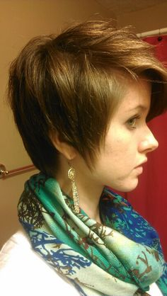 Growing out a pixie