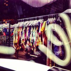 Through the neon... Instagram: @wearehandsome