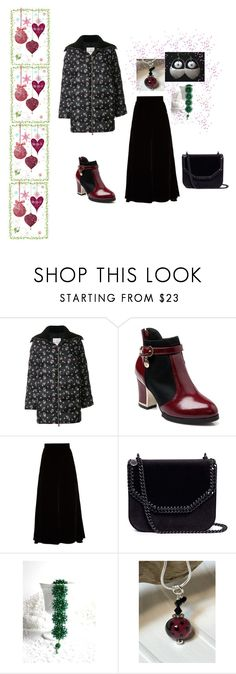 """""""Fashion"""" by keepsakedesignbycmm ❤ liked on Polyvore featuring Moncler, Peter Pilotto, STELLA McCARTNEY, jewelry, accessories and gifts"""