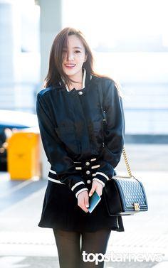 Eunjung - T-ara Korea Fashion, Asian Fashion, Airport Fashion, T Ara Eunjung, Park Ji Yeon, Airport Style, Tight Dresses, Pop Group, Couture Fashion