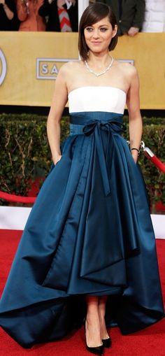 Marion Cotillard SAG 2013  | Keep the Glamour
