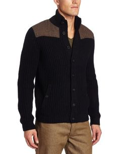 I like the bone pattern on the shoulders: Ted Baker Men's Princiz Long Sleeve Cardigan on Amazon.com