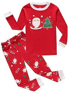 IF Pajamas Christmas Tree Little Boys Girls Pjs Long Sleeve Kid Pajamas Sets  Santa Claus Christmas 732f95276