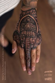 Lord Ganesha Tattoo