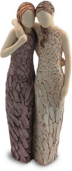 Special Friends-Sisters Females Statue. Available at AllSculptures.com