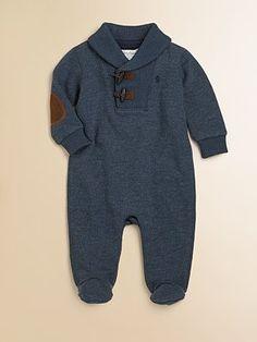 Ralph Lauren Infant's Fleece Coverall