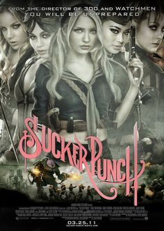 Sucker Punch. 2011 American fantasy steampunk action film directed by Zack Snyder and co-written by Snyder and Steve Shibuya. It is Snyder's first film based on an original concept.