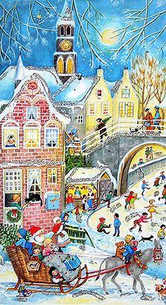 .Downtown Christmas
