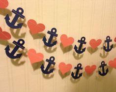 Navy & coral (bob)