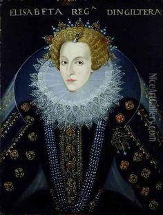 Portrait of Queen Elizabeth I - John, the Elder Bettes