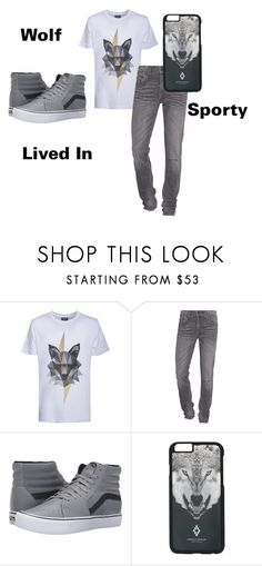 """""""Men's Fashion No. 5"""" by scbh05 ❤ liked on Polyvore featuring Kloters Milano, True Religion, Vans, County Of Milan, men's fashion, menswear, comfy, sporty and livedin"""