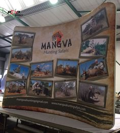 Wall Banner, Exhibition Display, Banner Printing, Banners, Safari, Africa, Pop, Frame, Prints