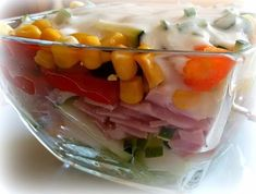 Simi´s Sattmacher: Schichtsalat
