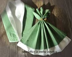 Billedresultat for pliage de serviettes