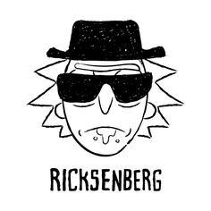 RICKSENBERG T-Shirt - Rick and Morty T-Shirt is $11 today at Ript!