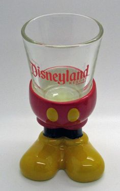 Walt Disney Parks Disneyland Resort Mickey Mouse Body Parts Large Shot Glass