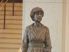 Jeanette Rankin- first women elected to the United States Congress and a social worker.