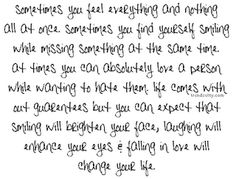 One Tree Hill quotes are the best. :)