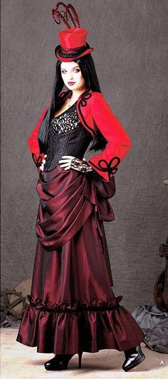 Steampunk Gothic Costume by BouChicDressmakers on Etsy Viktorianischer Steampunk, Steampunk Clothing, Steampunk Fashion, Victorian Fashion, Gothic Fashion, Victorian Gothic, Alternative Mode, Alternative Fashion, Corsets