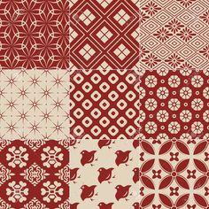 ビンテージ日本の伝統的なパターン 写真素材 - 23330641