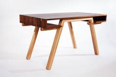 The functional and stylish Balnahard Desk by Caledonia Silva. #yyj #custom #furniture