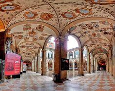 El Archiginnasio en Bolonia, Italia