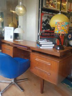 Basement Renovations, Contemporary Artists, Corner Desk, Mid-century Modern, Mid Century, Furniture, Home Decor, Corner Table, Decoration Home