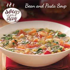 Bean and Pasta Soup Recipe from Taste of Home -- shared by Maria Gooding of Union, Ontario