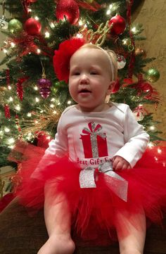 Vestido de traje de Navidad Navidad de chica por Cre8tiveBowtique