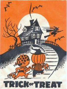 Treat bags -- so evocative my Halloween when I was a kid. :)