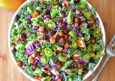 Harvest Salad with Pumpkin Vinaigrette