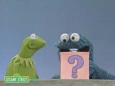 Sesame Street: Kermit And Cookie Monster And The Mystery Box - YouTube  I LOVE THIS VIDEO FOR TEACHING INFERRING WITH CLUES!
