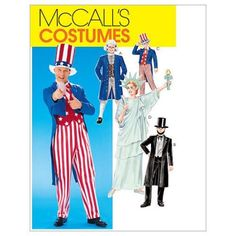 Free Shipping on orders over $35. Buy Adults'/Boys'/Girls' Costumes-Adults' (LRG) -*SEWING PATTERN* at Walmart.com