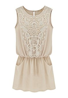 Chiffon Crochet Tunic / Dress