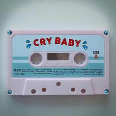 Get the Melanie Martinez Crybaby cassette now Cry Baby, Tenacious D, Babe, Pokerface, Pity Party, Face Charts, Indie, Pink Aesthetic, Aesthetic Pics